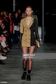 A model walks the runway at the Soeren Le Schmidt show during the...    Copenhagen fashion week, Copenhagen style, Model