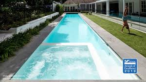 Out From The Blue In 2020 Pool Swimming Pool Construction Pool Builders