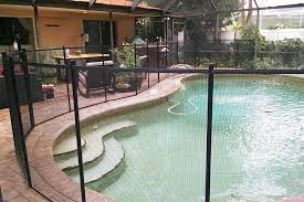 Black Swimming Pool Fences Baby Guard Pool Fence St Pete
