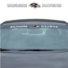 Team Promark Baltimore Ravens Windshield Decal In The Exterior Car Accessories Department At Lowes Com