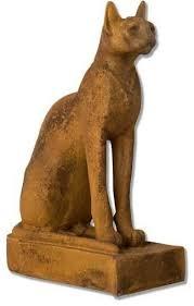 egyptian cat of bastet garden animal
