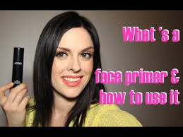 what is a face primer why use it and