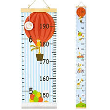 Amazon Com Qtgirl Kids Growth Chart Height Chart For Child Height Measurement Wall Hanging Rulers Room Decoration For Girls Boys Toddlers Giraffe Baby