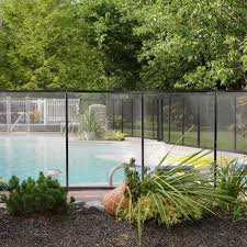 Swimming Pool Fence 4 X 12ft Water Safety Barrier Removal Able Above Xtremepowerus