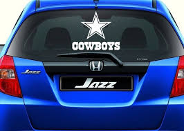 Dallas Cowboys Inspired Car Window Decal Sport Team Vinyl Car Decal Ebay Car Decals Vinyl Vinyl Decals Vinyl Decal Stickers