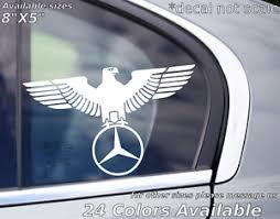 Mercedes German Eagle Window Decal Sticker Benz E Class Ebay