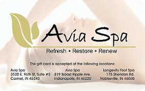 avia spa gift card giftcards