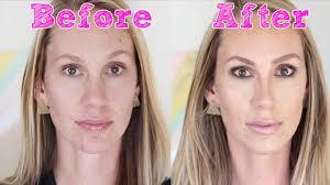 makeup makeover for brown e blonde