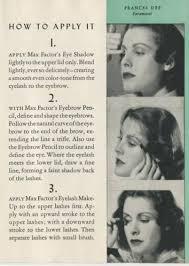 women s 1940s makeup an overview