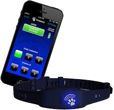 Amazon Com High Tech Pet Bluefang Smart Phone Electric Dog Fence Training And Bark Stop Collar Bf 22 Navy Blue High Tech Pet Pet Supplies