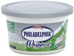 garlic n herb cream cheese spread