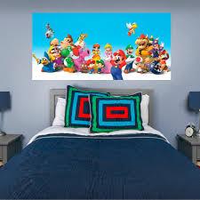 Fathead Super Mario Mural Huge Officially Licensed Nintendo Removable Wall Graphic Walmart Com Walmart Com