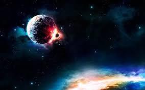 تحميل خلفيات الكواكب الاصطدام الضوء الكواكب سديم النجوم