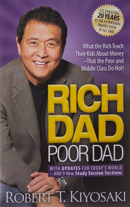 Image result for Rich Dad, Poor Dad""