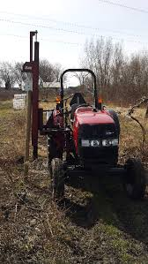 Tractor Mounted Fence Post Driver Ideas