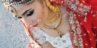 asian stani indian bridal glam