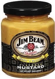 jim beam mustard honey n bourbon 11