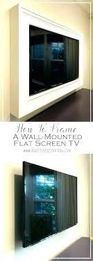 behind tv bedroom mirror tv wall mount