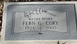 Fern Gray Cory (1926-2005) - Find A Grave Memorial