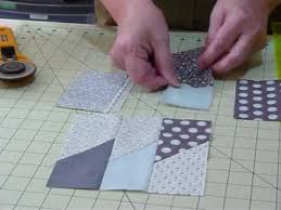 How To Make A Picket Fence Block Using 5 Squares Quilting Tips Techniques 045 Youtube