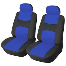 front seat car seat covers 159 blue