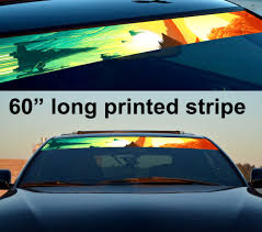 Buy 60 Star Wars V1 Bb8 Force Sun Strip Printed Windshield Car Vinyl Sticker Decal