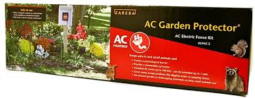 Zareba Kgpac Z Ac Garden Protector Ac Powered Electric Fence Kit Amazon Ca Pet Supplies