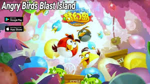 Angry Birds Blast Island Android IOS Gameplay by Rovio ...