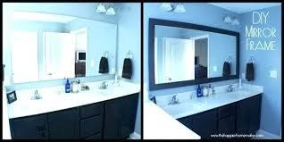 bathroom mirror ideas diy sooki co
