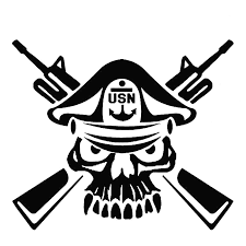 16 5cm 14cm Us Navy Master Chief Skull Cross Rifles Seals Usmc Army Car Stickers Car Styling Accessories Black Sliver C8 1247 Stickers Fashion Stickers Cabochonstickers Net Aliexpress