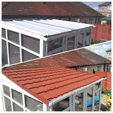 Flat To Pitched Roof Using Lightweight Tiles Lightweight Tiles