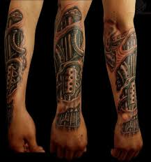 Biomechanical Tattoo Tatuaz Rekaw Biomechanika Best Tattoo Ideas