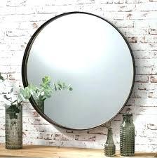 large circle mirror round large mirror