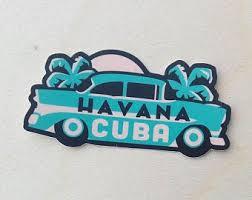 Cuba Sticker Etsy