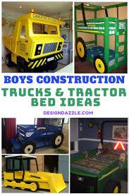 Diy Tractor Construction Truck Bed Ideas Diy