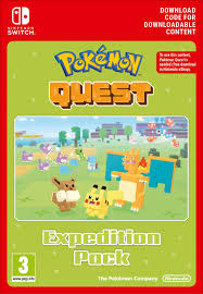 Pokémon Quest: Expedition Pack   Switch - Download Code: Amazon.co ...