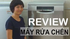 Review máy rửa chén - Kim The Cook - YouTube