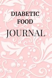 diabetic food journal booklet logbook