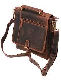 vintage brown 9x10 satchel purse w