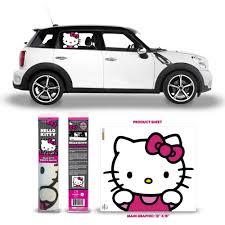 Automotive Graphics Hello Kitty Passenger Series Window Decal Fw004721 55 40 Telestarstudy Distributors