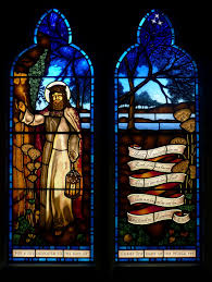 light of the world stained glass window