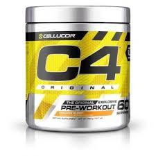 cellucor c4 original 60 servings pre