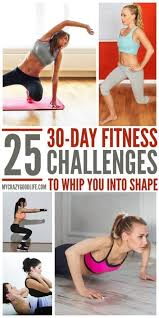 25 motivating 30 day fitness challenges