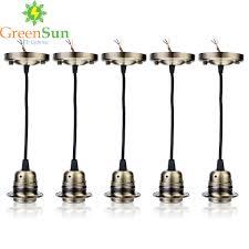 e27 retro lamp holder pendant light