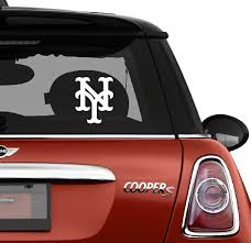Amazon Com Sports Teams Decals Ny Mets Automotive Decal Bumper Sticker Automotive