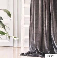 Velvet Curtains Living Room Curtains Curtains For Living Etsy