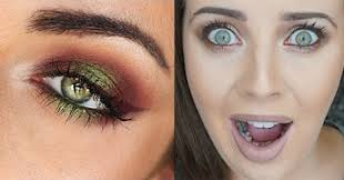 perfect makeup tutorials for green eyes