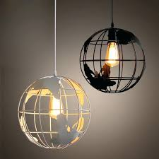 world globe pendant light electrical