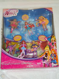 NEW WINX CLUB TRANSFORMATION COLLECTION ...