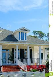 Cape Cod Style Home Stock Image Image Of Fence Mortgage 2177701